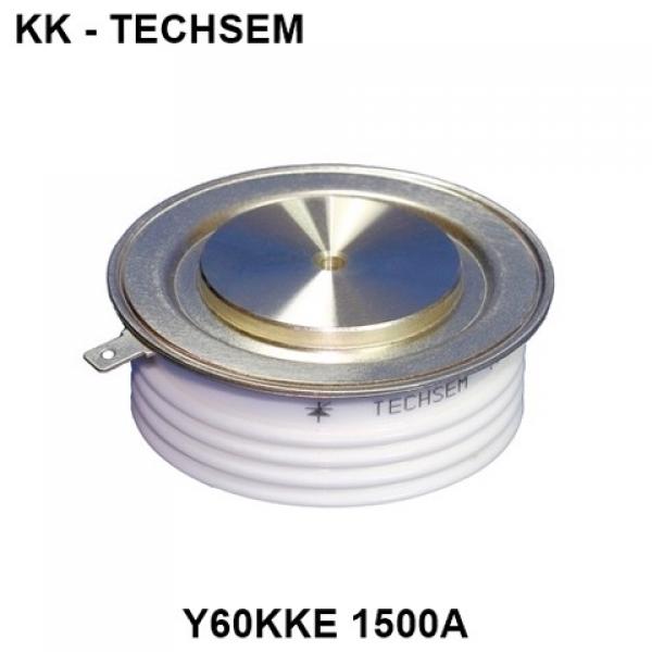KK1500A-1600V Y60KKE Thyristor SCR Techsem - 1500A 1600V