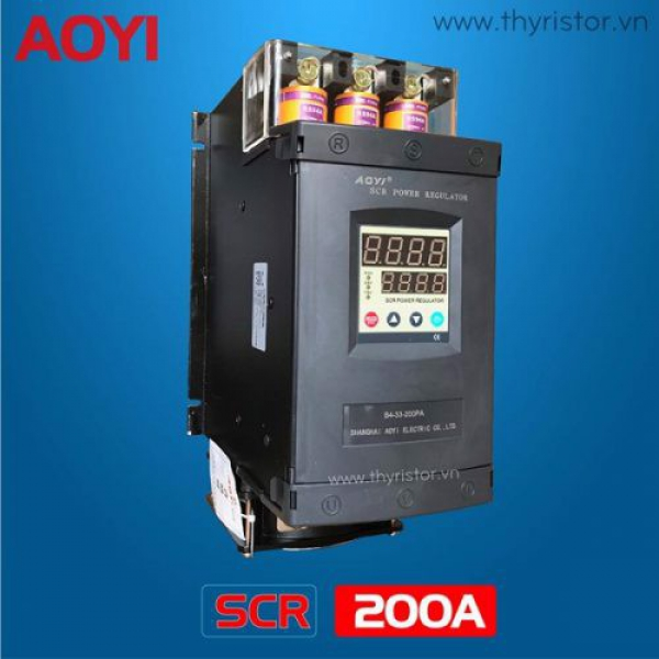 Bộ Điều Khiển Công Suất SCR 3 Pha 200A Aoyi